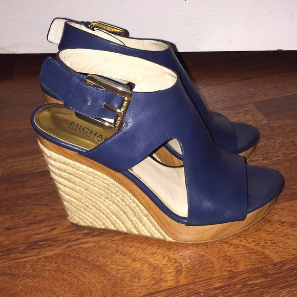 bb5526c7b6e Michael Kors women's shoes wedge size 6.5